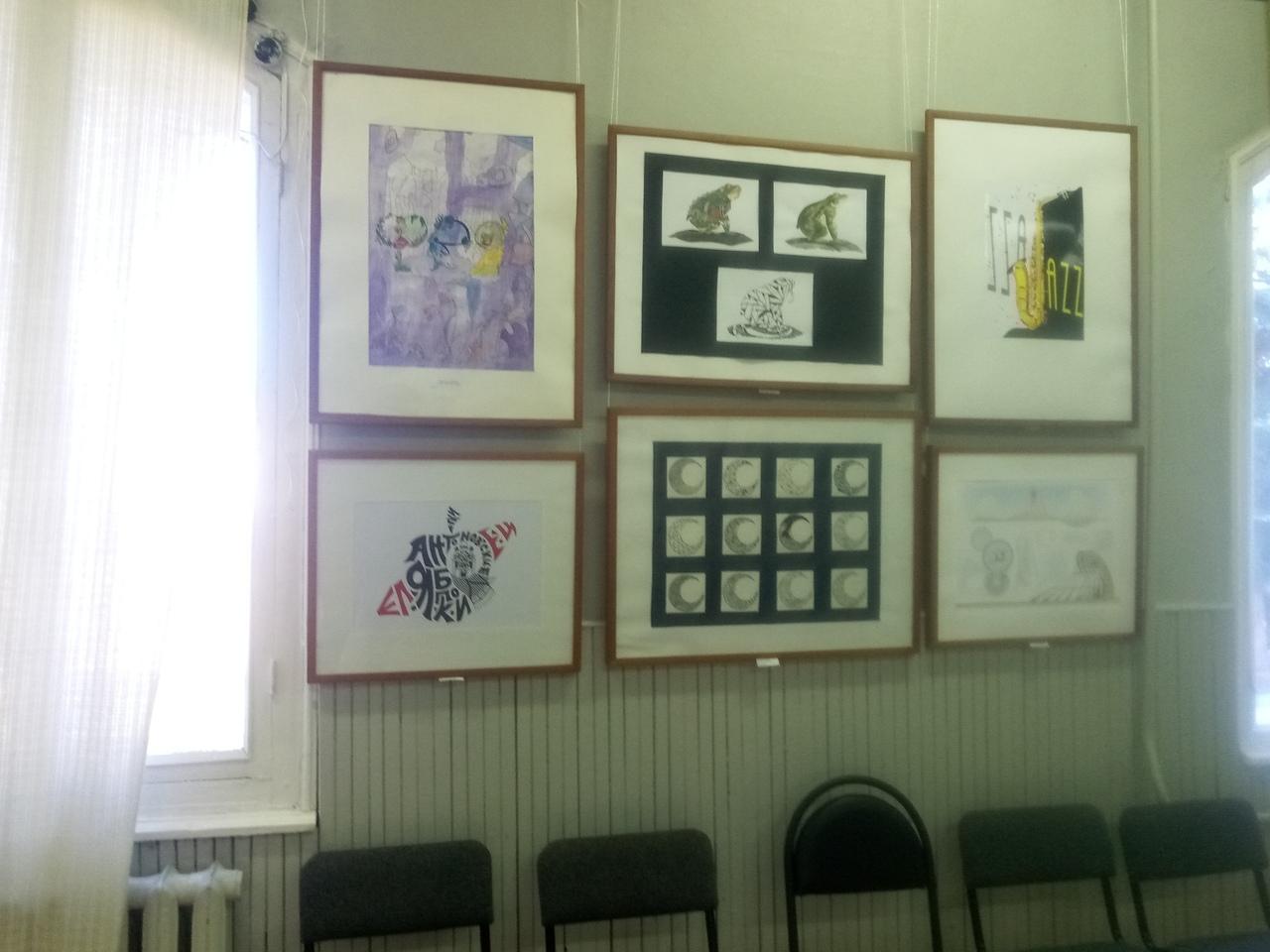 Открытие выставки работ студентов и преподавателей отделений