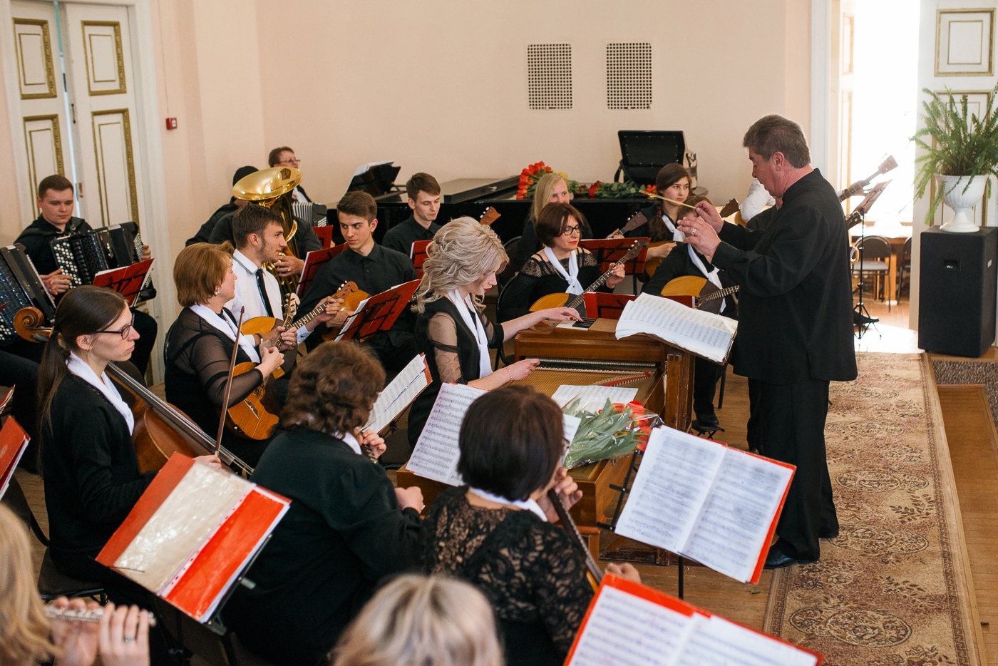 Концерт ко дню музыки и дню учителя