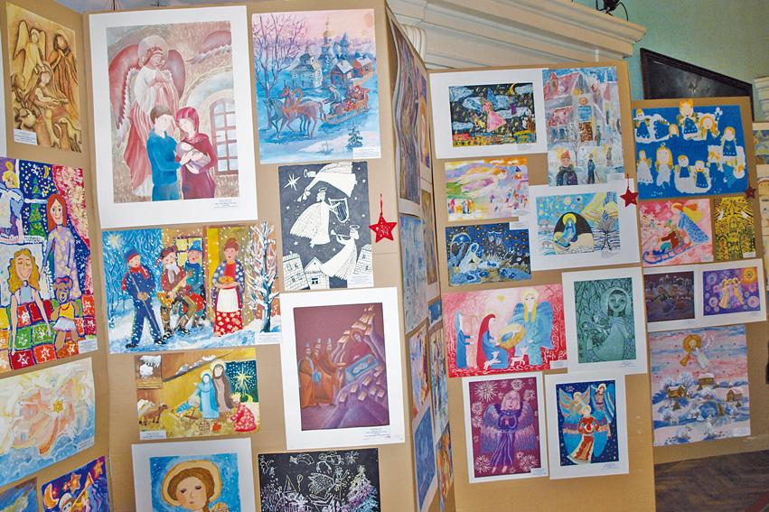 Выставка в рамках Областного конкурса детского художественного рисунка