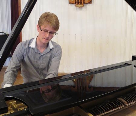 Творческая встреча с правнуком композитора Тихона Хренникова